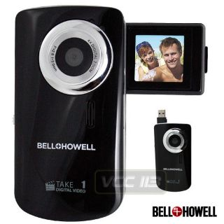 Bell Howell Take 1 Digital Flip Camcorder Camera Black