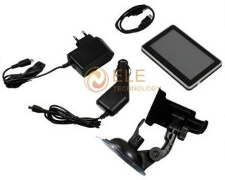 New 4.3 GPS + 4GB Memory Car GPS Navigator 468MHz CE 6.0 64MB SDRAM