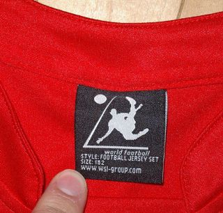 Danmark Denmark Football Jersey Shirt Soccer Kids Youth Boys Child L