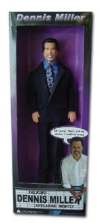 Dennis Miller Talking Action Figure Doll Funny