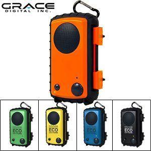 Grace Digital Waterproof Speaker Case iPhone iPod