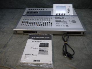 Korg D16XD Xtended Definition Recording Studio