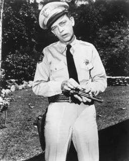 Deputy Barney Fife 8x10 Don Knotts The Andy Griffith Show
