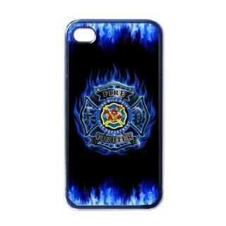 New iPhone 4 Hard Case Cover Firefighter Rescue Fire Department