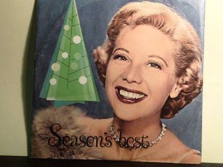 Dinah Shore Seasons Best Chevrolet Christmas 1960 VG with Picture