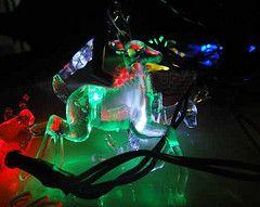 10 Snow Deer Solar String Christmas Outdoor Light Xmas