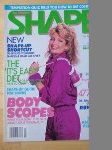 Joe Weider SHAPE female fitness muscle magazine/DEIDRE HALL 7 87