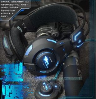 Perfect Cool LED Gaming Headset Earpiece Live Orignial Position Voice