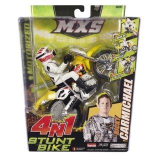 Ricky Carmichael MXS Stunt Dirt Bike Toys