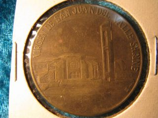 Virgen de San Juan Del Valle Our Lady Shrine Texas Commemorative Medal