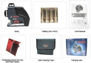 Bosch GLL3 80P GLL 3 80 P Professional Line laser Multi Liner + Bosch