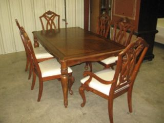 Legacy Classic Furniture Discontinued Dining Table and Chair Set 4