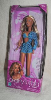 Beyonce, Destinys Child, 12 doll, Hasbro, 2001, Grammy outfit
