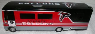 Atlanta Falcons 2003 Winnebago Bus Motorcoach Metal Die Cast