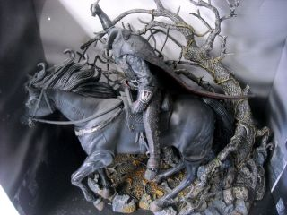 Sleepy Hollow Headless Horseman Horse and Tree Action Set
