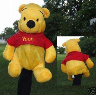 Disney Winnie Pooh Bear Golf Driver Cover Gift Present