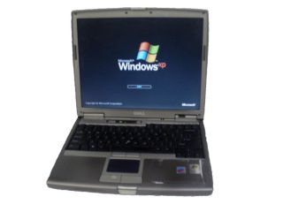 Dell Latitude D610 WiFi Laptop PM 1 73GHz 1GB 40GB DVDROM XP Home Free