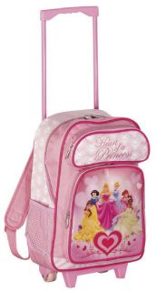 Disney by Heys USA Heart of A Princess 17 Girls Rolling Backpack