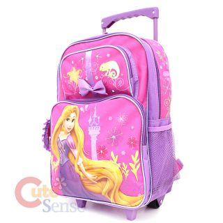 Disney Princess Tangled Rapunzel Large Roller School Backpack/Bag