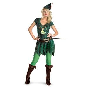 New Disney Peter Pan Lost Boys Sexy Teen Girl Halloween Costume s 4 6