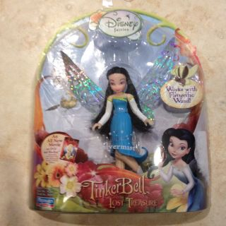 New Disney Fairies Tinkerbell Silvermist Figurine for Flitterific Wand
