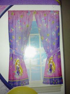 Disney Tangled Rapunzel Window Panels Curtains Drapes