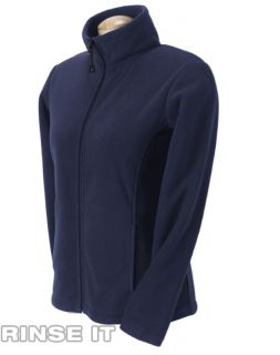 Devon Jones Ladies Wintercept Fleece Full Zip Jacket Any Color Size