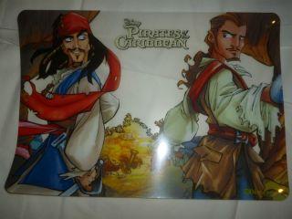 Disney Pirates Of The Caribbean100 Vinyl Placemats 11 75 x 17