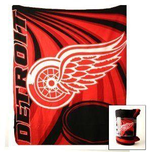 Detroit Red Wings 50 x 60 Fleece Throw Blanket