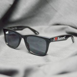 new dgk skateboards i love haters sunglasses black