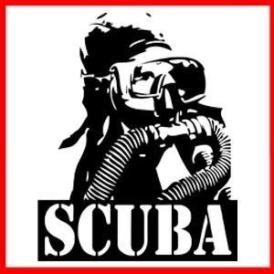 Scuba Diving Sport Air Tank Rebreather Diver T Shirt