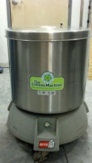 DITO GREEN MACHINE COMMERCIAL SALAD SPINNER DRYER