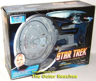 Diamond Select STAR TREK TNG Electronic ENTERPRISE NCC 1701 D Ship *AS