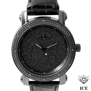 Ice Maxx Natural Diamond Quartz Movement Watch Retail $699 00 with
