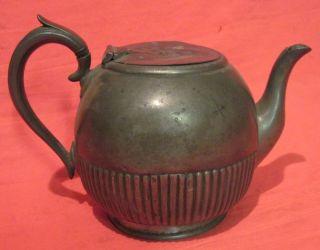 James Dixon Sons Silver Plate Tea Pot Sheffield 2033