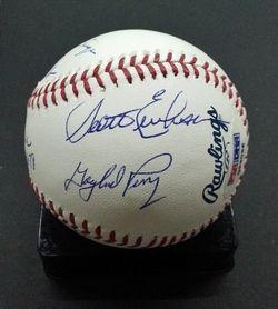 No Hitters Multi 10x Signed Autographed Signed MLB Baseball HOFers PSA