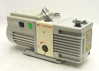 Edwards RV8 Dual 2 Stage Rotary Vane Vacuum Pump Motor 115 230V 50