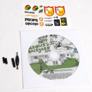 Trix Finger Bike BMX Matt Backyard Ramp Set 1 Complete Bike DVD
