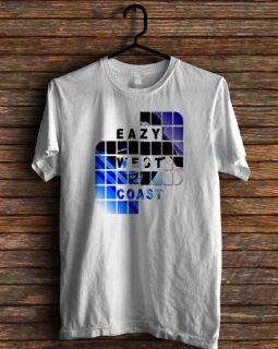 New Eazy West Coast Rap Hip Two Compton DJ Quik T Shirt