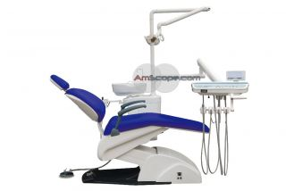 Dental Chair Complete Package Color V20 Navy Blue FDA Approval US
