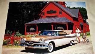 1957 Dodge Custom Royal Lancer 2 Dr HT Car Print