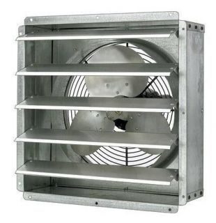 Exhaust Fan Commercial 20 Explosion Proof 1 4 HP 3 200 CFM 1 800 RPM