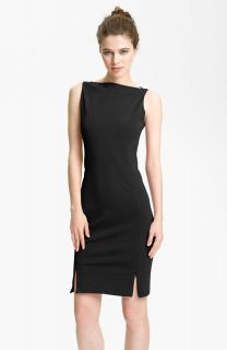 Diane von Furstenberg Audrina Black Sheath Dress Sz 6 NEW