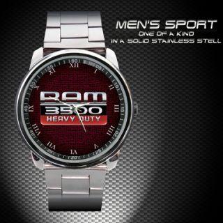 Dodge Ram 3500 Heavy Duty Chassis Cab Logo Emblem Unisex Watch BM 350