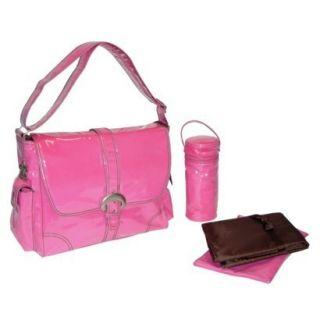Kalencom Hot Pink Buckle Diaper Bag