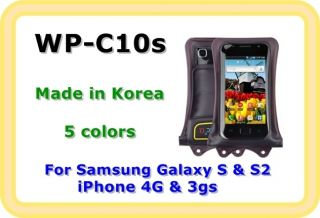 Dicapac WP C10s Waterproof Underwater Case for Samsung Galaxy S2 S to