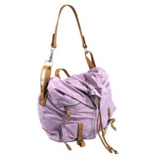 Diesel Sensa Pink Foldover Crossbody Shoulder Bag Handbag