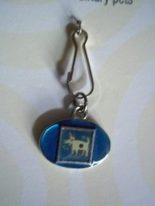 enameled tag pet cat dog clip collar barking dog