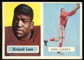1957 Topps #85 Dick Night Train Lane Rookie Chicago Cardinals