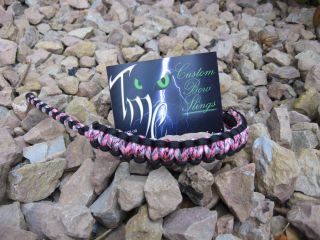 Hoyt Mathews PSE Bow Tech Custom Paracord Bowsling made just for the